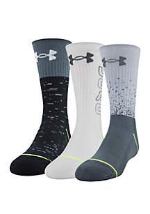Under Armour® Boys Phenom 5.0 Crew Socks