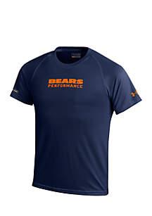 Chicago Bears NFL Wordmark Blue Tee Boys 8-20