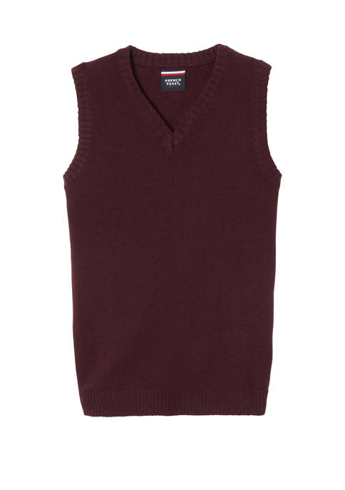 Boys V-Neck Sweater Vest