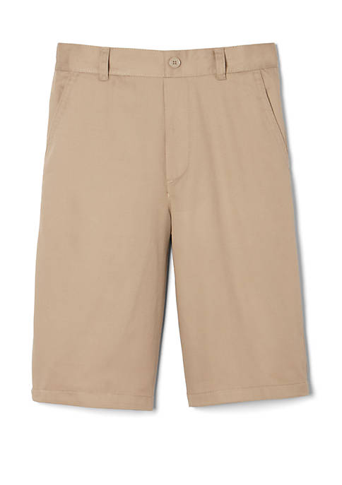 French Toast Boys 8-20 Pull On Twill Shorts