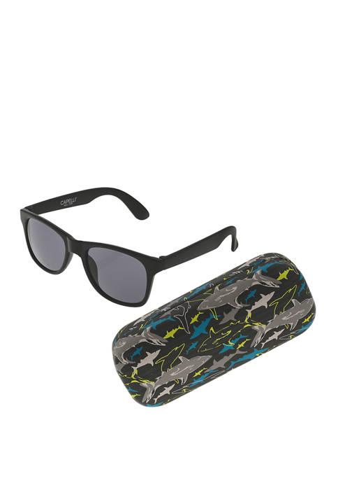 Capelli New York Boys Shark Sunglasses Set