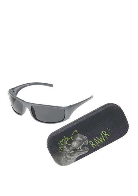 Capelli New York Boys Dinosaur Sunglasses Set