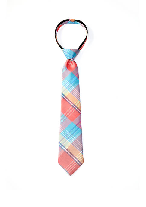 IZOD Boys Fashion Adam Plaid Tie