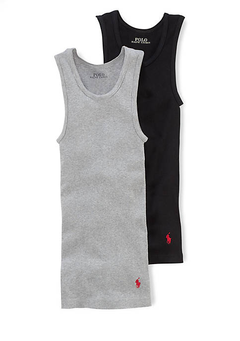 Ralph Lauren Childrenswear 2-Pack Athletic Tank Tops Boys