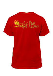 Short Sleeve Sailfish Life Tee Boys 8-20