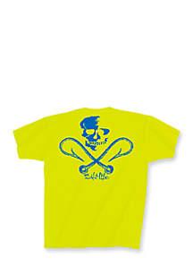Short Sleeve Skull and Hooks Tee Boys 8-20