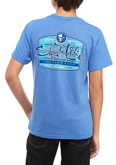 Salt Life Sea Tribe Tee Boys 8-20