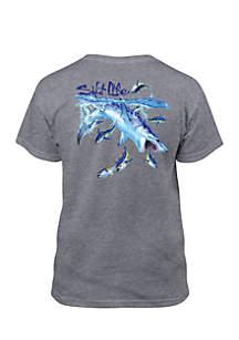 Mako Sushi Shark Graphic Tee Boys 8-20