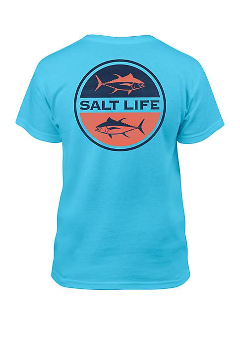 Salt Life Boys 8-20 Seeing Tuna Tee