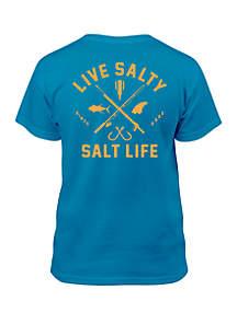 Salt Life Boys 8-20 Modern Waterman Tee