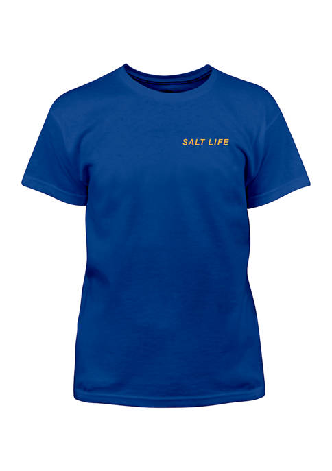 Salt Life Boys 8-20 Lightning Tuna Graphic T-Shirt