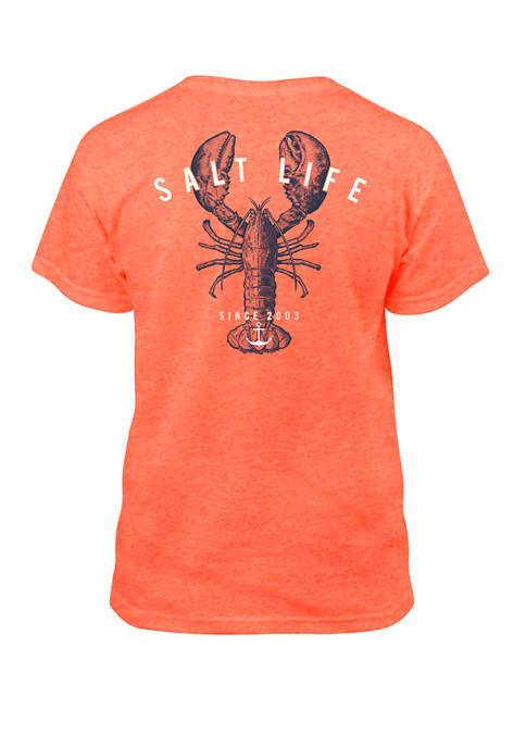 Salt Life Boys 8-20 Lobster Shanty Youth Graphic