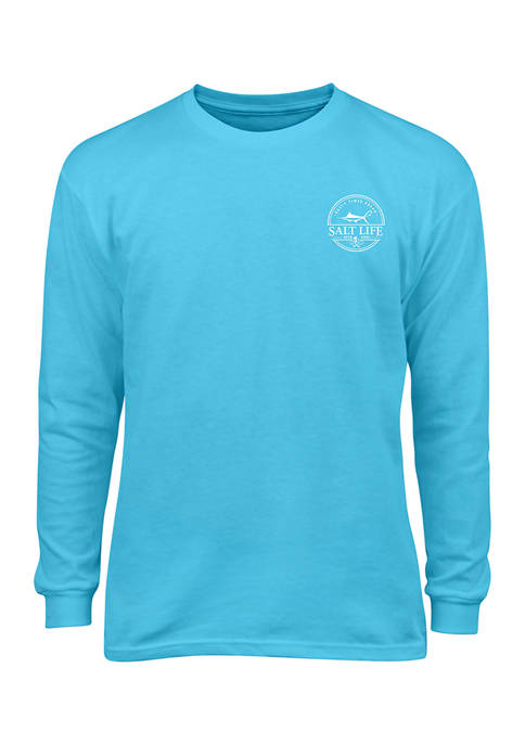 Salt Life Baby Boys Forecast Long Sleeve T-Shirt