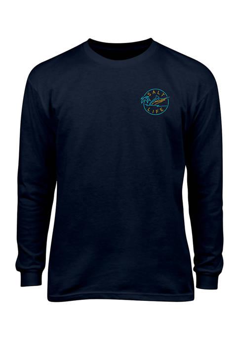 Boys 8-20 Long Sleeve Salty Hour T-Shirt