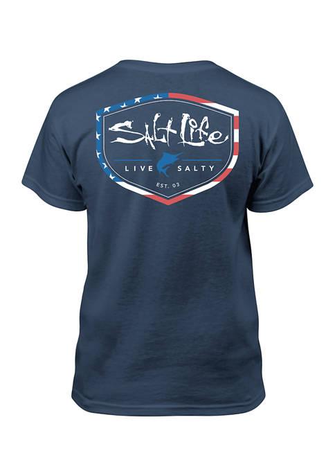 Salt Life Boys 8-20 AmeriShield T-Shirt