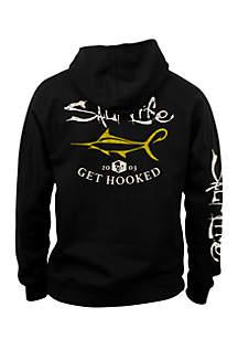 Boys 8-20 Get Hooked Marlin Fleece Hoodie