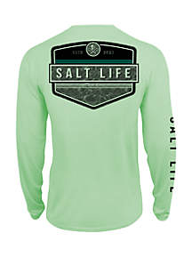 3693e670 Salt Life Atlantic Tank · Salt Life Boys 8 - 20 Calm Waters Badge Long  Sleeve T Shirt
