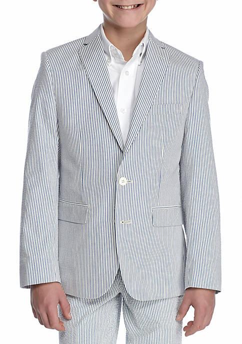 Lauren Ralph Lauren Seersucker Jacket Boys 8-20
