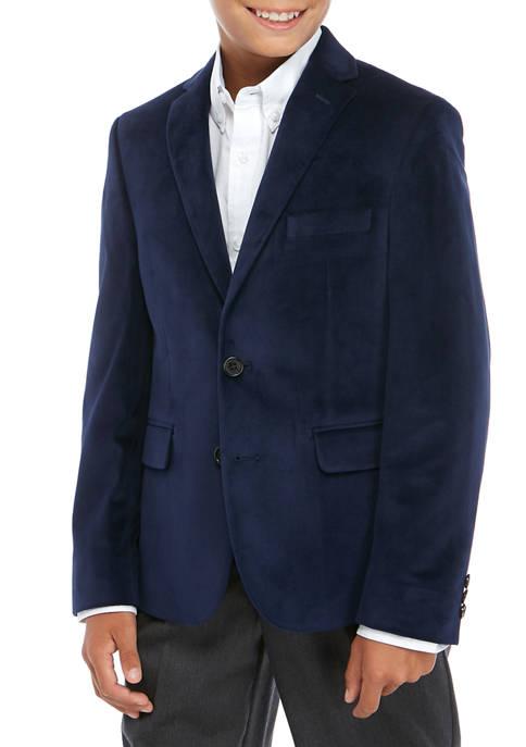 Lauren Ralph Lauren Boys 8-20 Notch Navy Jacket