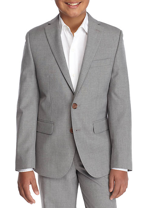 Light Gray Dress Blazer Boys 8-20