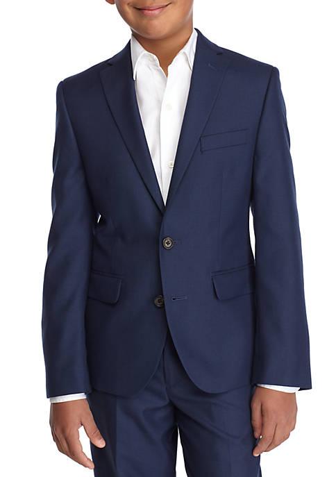 Blue Dress Blazer Boys 8-20