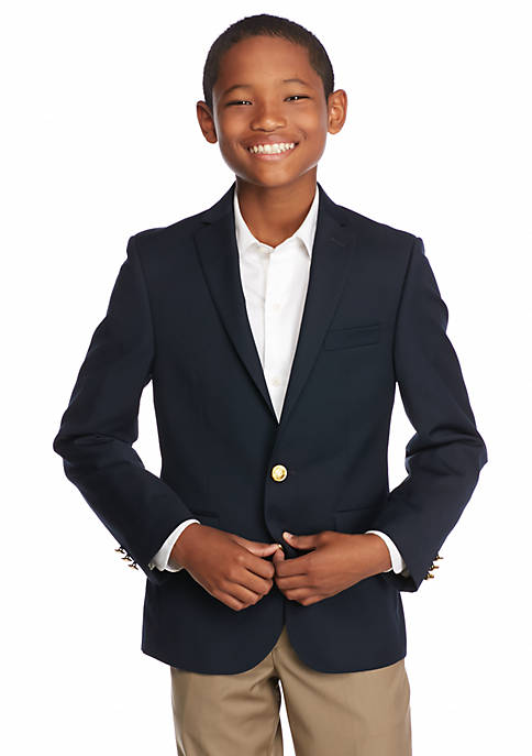 Polo Ralph Lauren Solid Blazer Boys 8-20