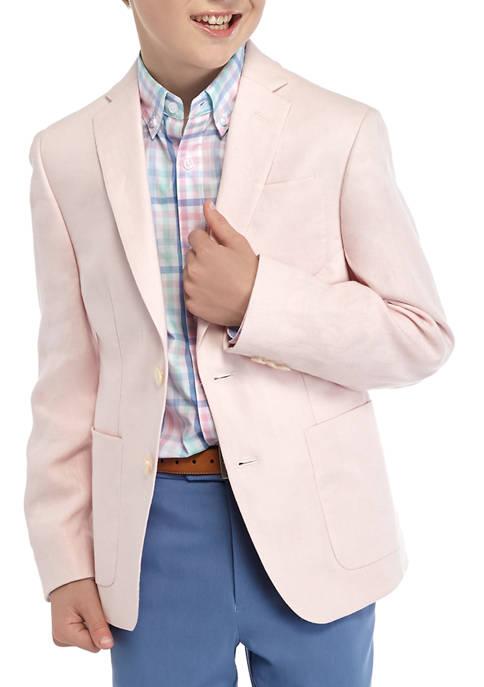 Lauren Ralph Lauren Boys 8-20 Pink Plain Classic