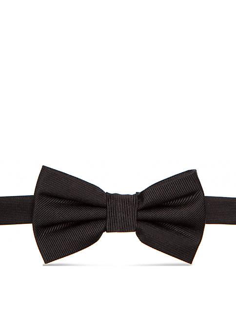 Lauren Ralph Lauren Solid Black Bow Tie Boys