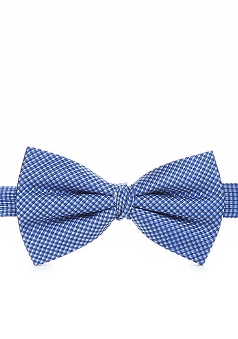 Checked Bow Tie 8-20