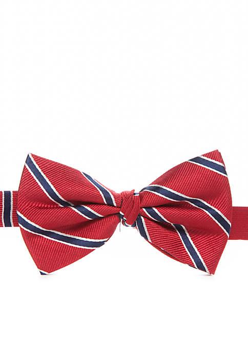 Stripe Bow Tie Boys 8-20