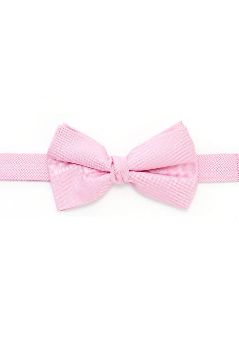 Boys 8-20 Oxford Solid Bow Tie