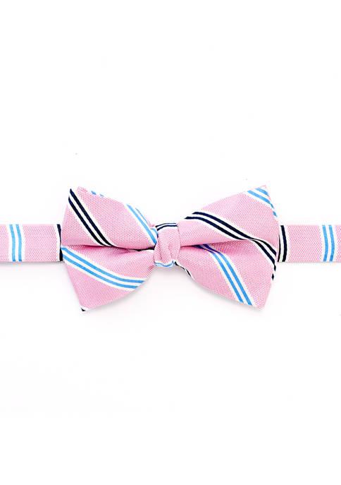 Lauren Ralph Lauren Boys 8-20 Oxford Stripe Bow