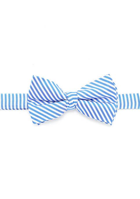 Boys 8-20 Seersucker Stripe Bow Tie