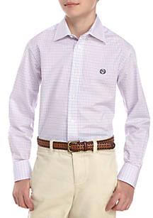 463175682f0 Lauren Ralph Lauren. Lauren Ralph Lauren Check Printed Button Front Dress  Shirt Boys ...
