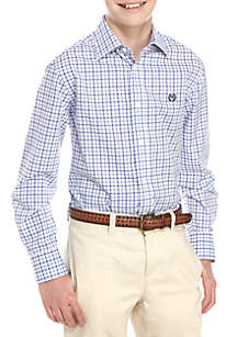 Lauren Ralph Lauren Check Printed Button Front Dress Shirt Boys 8-20