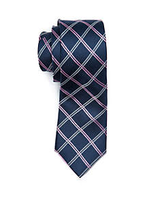 Boys 4-20 Lattice Grid Tie