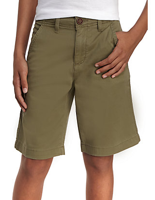 d9f5f9e03 TRUE CRAFT. TRUE CRAFT Relaxed Stretch Twill Flat Front Shorts Boys 8-20  Husky