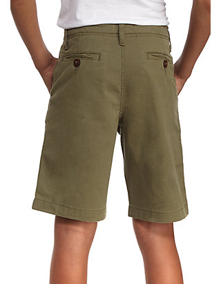 47fe355f3 ... TRUE CRAFT Relaxed Stretch Twill Flat Front Shorts Boys 8-20 Husky