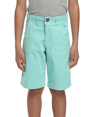fa3709b8c Boys Husky Relaxed Stretch Twill Flat Front Shorts | belk