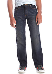 Destructed Stretch Jeans Boys 8-20
