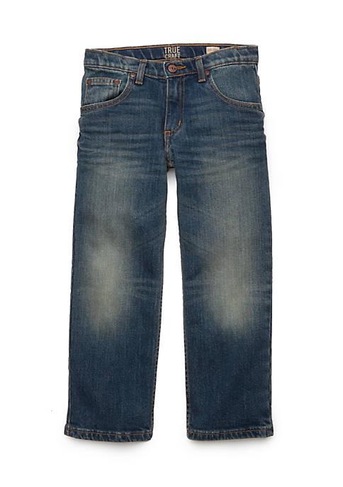 Boys 4-8 Straight Leg Stretch Jeans