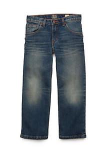 TRUE CRAFT Boys 4-8 Straight Leg Stretch Jeans
