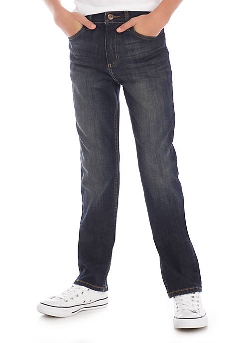 Boys 8-20 Stretch Straight Fit Jeans