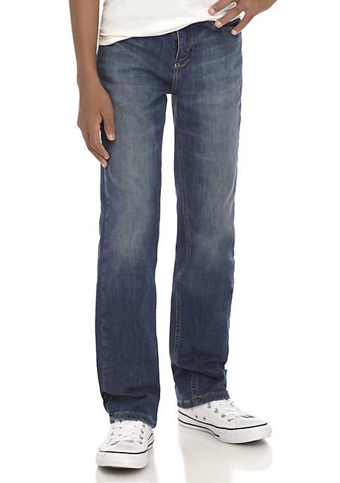TRUE CRAFT Boys 8-20 Stretch Denim Pants