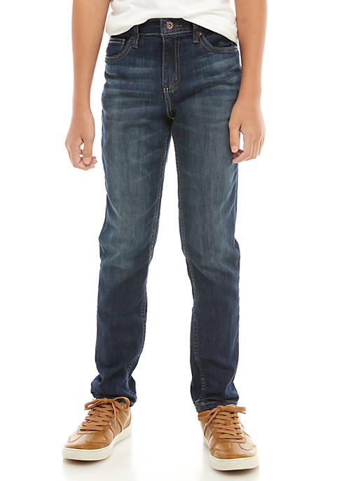 TRUE CRAFT Boys 8-20 Tapered Fit Denim Jeans