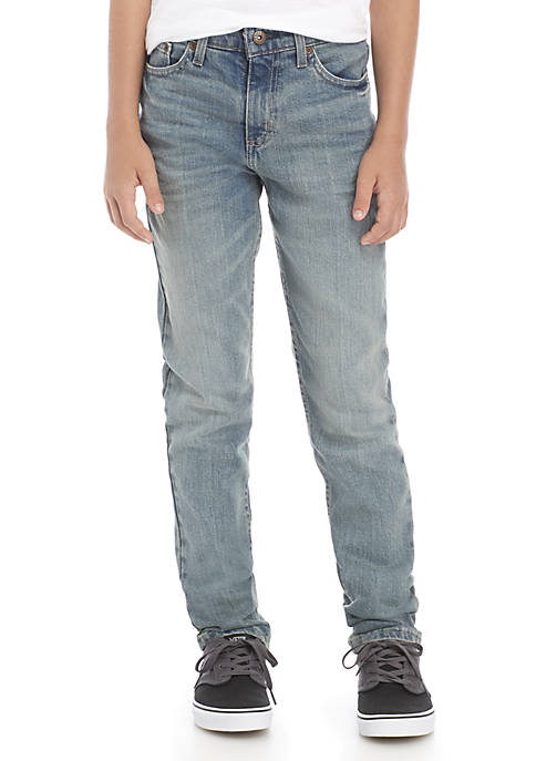Boys 8-20 Tapered Fit Denim Jeans
