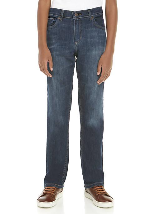 TRUE CRAFT Boys 8-20 Stretch Denim Husky Jeans