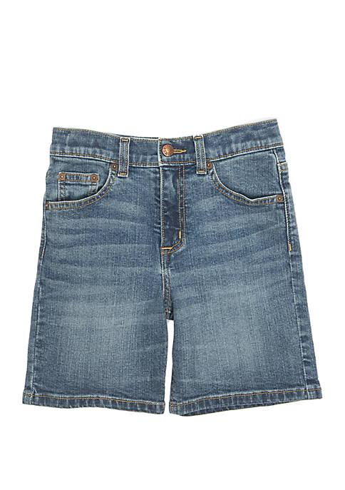 TRUE CRAFT Boys 4-8 Light Wash Denim Shorts