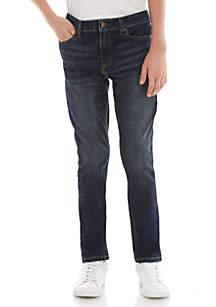 TRUE CRAFT Boys 8-20 Skinny Fit Denim Jeans