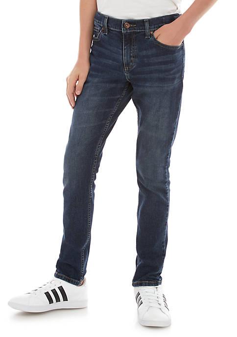 Boys 8-20 Tapered Fit Denim Jeans